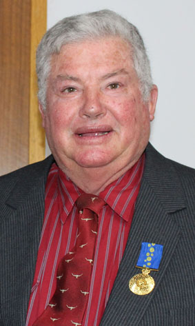 Upper Lachlan Shire Council's Mayor Brian McCormack OAM.
